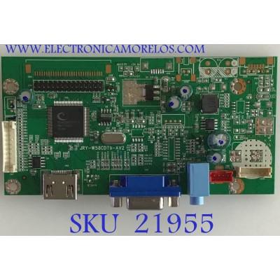MAIN MONITOR VIOTEK / JRYP08C-X12WA / JRY-W58CDT9-AV2 / PANEL LSM315HP03-G03 / MODELO NB32CB