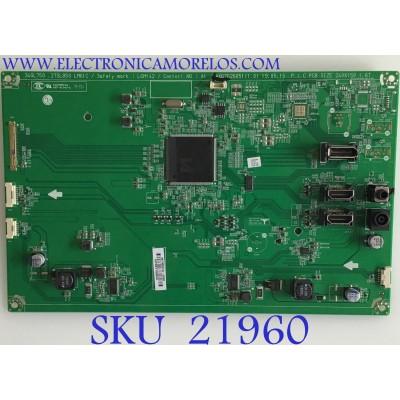 MAIN MONITOR LG / EAX67626051 / EAX67626051 (1.0) / NP99T109HN / PANEL LM270WQA (SS)(A1) / MODELO 27GL83A-BB.AUSOMPN