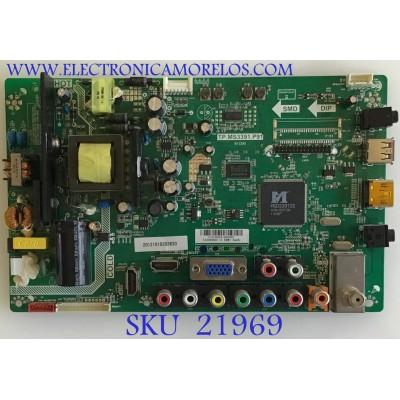 MAIN FUENTE (COMBO) ELEMENT / L12100225 / TP.MS3391.P91 / 20121010203630 / PANEL T320XVD01.0 / MODELO ELEFW327