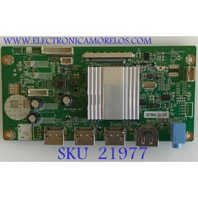 MAIN MONITOR VIOTEK / JRYU38C-AA12WA / JRY-W9UHD-NV2 / MST98A1-Q1-EDP / PANEL LSM340YP03 / MODELO GNV34DB