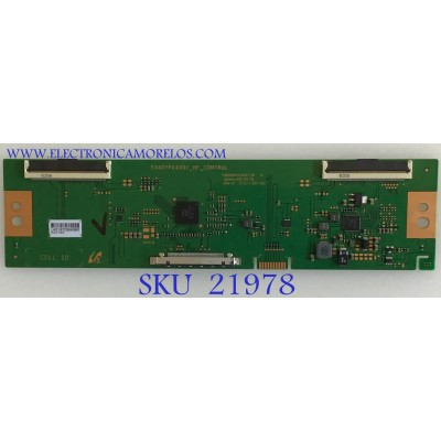 T-CON PARA MONITOR VIOTEK / LJ94-42197C / S340YP04V01_HF_CONTROL / 42197C / PANEL LSM340YP03 / MODELO GNV34DB