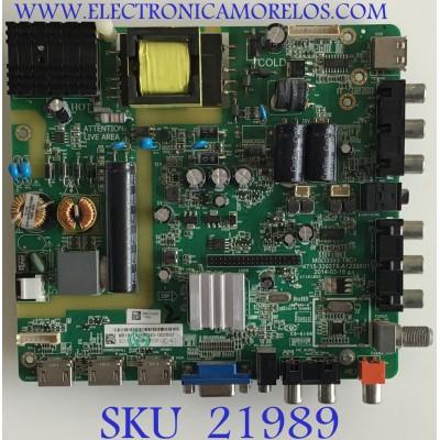 MAIN FUENTE (COMBO) DAEWOO / 4715-3393T8-A1233K01 / MSD3393-T8C1 / 9011-118A38 / PANEL K320WD6 / MODELO L32Q5400KN