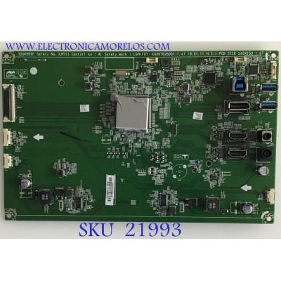 MAIN MONITOR LG / EAX67626001 / EAX67626001 (1.4) / 32GK850F / PANEL LGM315UK6 / MODELO 32GK850F-BB.AUSUJPN