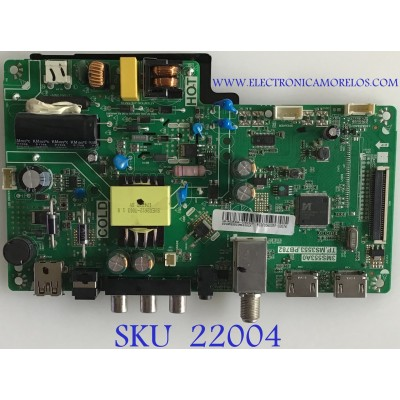 MAIN FUENTE (COMBO) HKPRO / V8-MS353NA / TP.MS3553.PB782 / MIDF956035F-02074 / PANEL LVW320CSDX E26 / MODELO HKP32F18
