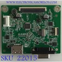 MAIN MONITOR DELL / 790QA1300D01R01 / 492A00BF1300H01 / PANEL MV238FHM-N60 / MODELO SE2419HX