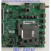 MAIN SAMSUNG UHD 4K SMART TV / BN94-14806L / BN97-15628F / BN41-02703B / PANEL CY-NN055HGHV3H / MODELO UN55RU7100FXZA CA03