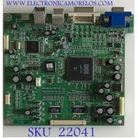 MAIN MONITOR DELL / 6832131500-03 / PTB-1345 / 4519C8A5456 / PANEL LTM190E1 / MODELO 1901FP