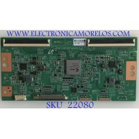 T-CON SONY / 1-001-513-12 / 18Y_SNTH2TA6AV0.1 / 42762E / LMY750FN01-A / PANEL YM9F075CND01 / MODELO XBR-75X800G