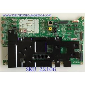 MAIN LG SMART TV PROCESADOR INTELIGENTE Α9 GEN2 / EBT65856905 / EAX68303205(1.0) / PANEL AC550AQL-FMA1 / MODELOS OLED55C9PUA DUSQLJR / OLED55C9PUA BUSYLJR