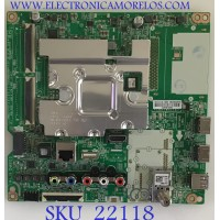 MAIN LG / EBU65202210 / EAX68253604(1.0) / PANEL NC490GG-ABGP1 / MODELO 49UM6900PUA.BUSGLJM