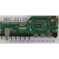 MAIN RCA / 46RE01M3393LNA35-I2 / LD.M3393.B / RE01-140715-ZQ708 / 0715-ZQ708 2581 / PANEL ZT460D3JS460-12V / MODELO LED46C45RQ 4421-LE46C45