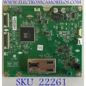 MAIN PARA MONITOR LG / EAX66876001 / EAX66876001(1.0) / NP77D1055U / PANEL LM290WW2 (SS)(C1) / MODELO 29UM68-PF.AUSHRPN