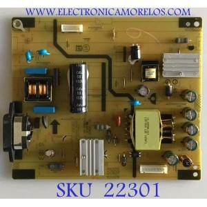 FUENTE DE PODER PARA MONITOR HP / 5E2UR0200501100 / 4H.2V102.A01 / 1650372 / PANEL LTM215HL01 / MODELO E222
