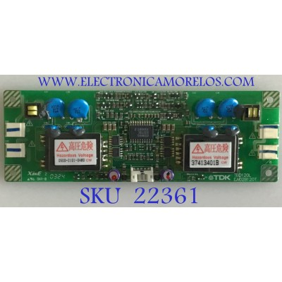 BACKLIGHT PARA MONITOR NEC / TBD120L / EA02B120T / PANEL LM170E01 (A5)(NJ) / MODELO LCD1765