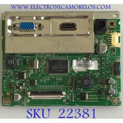 MAIN PARA TV SAMSUNG / BN94-05906L / BN41-01780C /  BN97-06738F 329 / PANEL M236HGE-L23 / MODELO S24B300EL