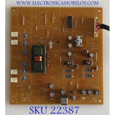 FUENTE DE PODER PARA MONITOR DELL / 5E0RT02001 / 4H.0RT02.A00 / 540241 REV:A00 / PANEL M215HW01 V.1 / MODELO SX2210B