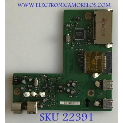 TARJETA SD PARA MONITOR DELL / 5E0CT08001 / 4H.0CT08.A01 / 453674 REV:A00 / PANEL LTM240CS05-C03 / MODELO 2408WFPB