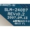 BACKLIGHT PARA MONITOR DELL / LJ97-01460A / SLM-24007 / 01460A / PANEL LTM240CS05-C03 / MODELO 2408WFPB