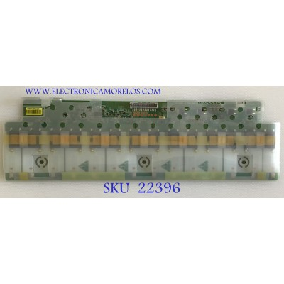 BACKLIGHT PARA MONITOR DELL / 6632L-0507C / KLS-LM240SH-HF REV:0.3 / PANEL LM240WU4 (SL)(B1) / MODELO U2410F