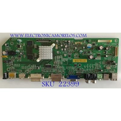 MAIN PARA MONITOR DELL / 7928841300A10R / 492271300100R / ILIF-129 REV.B / PANEL LM240WU4 (SL)(B1) / MODELO U2410F