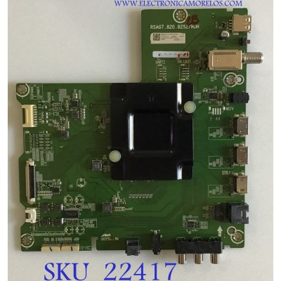 MAIN HISENSE / 242664A / RSAG7.820.5252/ROH / 242665A / PANEL HD550S1U81-L1\S0\GM\ROH / MODELO 55R6E