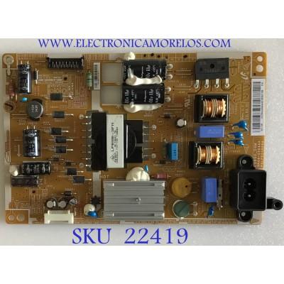 FUENTE DE PODER SAMSUNG / BN4400644A / PSLF550S05A / L28S05A0 / PANEL HF280AGH-R1 / MODELO T28D310NH / ZA