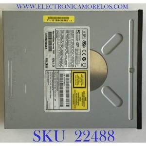 DVD PARA CPU / ASDVD-E616A / 5188-2603 / 5V---1.0A   /   12V---1.5A