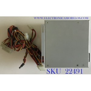 FUENTE SPARKLE POWER INT'L LTD PARA CPU / ATX-300PA-B204 / 677808610078 / FS728100537