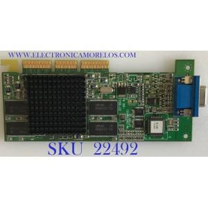 TARJETA DE VIDEO  ATI RAGE 128 Pro Ultra AGP /  DHM-6ZBJ711 / 1027311602 / 109-73100-02 / 3902B609 / MODELO DHM-6ZBJ711