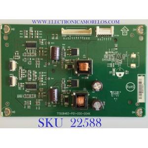 LED DRIVER PARA MONITOR AOC / LNPCGP621MQD2 / 715G8483-P01-000-004K / (Q)LNPCGP621MQD2