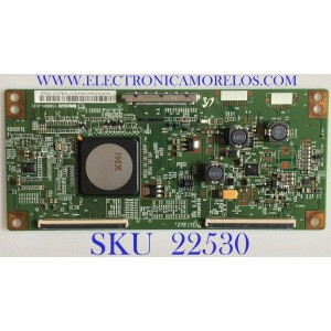 T-CON PARA MONITOR SEIKI / 4VP859 / V390DK1-CLS1 / PANEL M280DGJ-L30 REV.C1 / MODELO SM28UTR