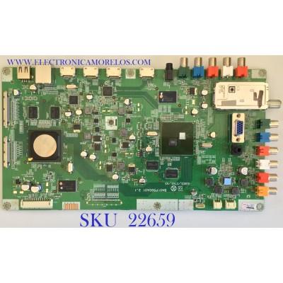 MAIN PARA TV PHILIPS / A01P6MMA-002-DM / BA01P5G0401 2_1 / A01P6UZ / PANEL LTA400HF09 / MODELO 40PFL5705D/F7