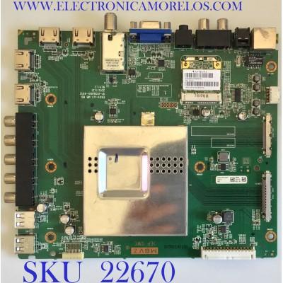 MAIN PARA TV VIZIO / 0160CAP00100ST / IP-012BJ00-4012 / E601l-A3 / PANEL JE600D3LC2N / MODELO E601i-A3 LFTRNWEP5004102