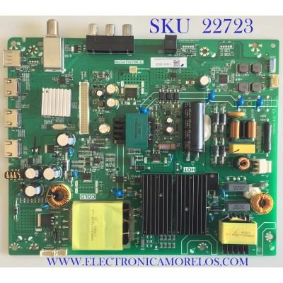MAIN FUENTE PARA TV TOSHIBA / PK34E00050I / TP.MS3553.PC705 / H17020320 / PANEL K490WDRA / MODELO 49L420U