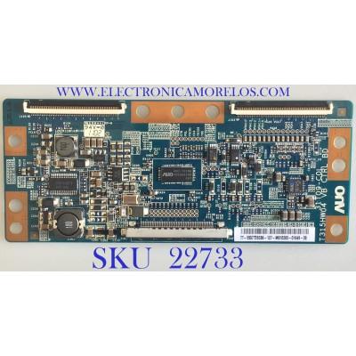 T-CON PARA TVT-CON PARA TV SAMSUNG / BN81-05995A / T315HW04 / 31T09-COL / 5537T05C86 / PANEL T370HVW03 V.P / MODELO LN37D550K1FXZA AA02 SAMSUNG / BN81-05995A / T315HW04 / 31T09-COL / 5537T05C86 / PANEL T370HVW03 V.P / MODELO LN37D550K1FXZA AA02