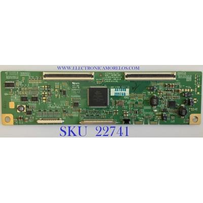 T-CON PARA TV LG / 6871L-02097A / 6870C-0316A / 2097A / PANEL LM270WQ1 (SD)(B1)