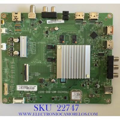 MAIN PARA TV VIZIO / 756TXJCB02K020 / GXJCB02K020000X / 715GA352-M01-B00-005T / PANEL TPT500U1-QVN03.U REV.SFB1GC / MODELOS M507RED-G1 LTCWZFKV