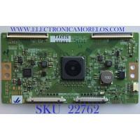 T-CON PARA TV LG / 6871L-5008D / 6870C-0709A / 5008D / PANEL LC600EGF (FK)(M3) / MODELO 60SJ8000-UA.BUSYLJR