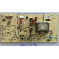 BACKLIGHT INVERTER PARA TV SONY / A-1663-186-B / 1-878-620-12 / 173045512 / A1663186B / A1663186A / PANEL LTY460HF04 / MODELOS KDL-40W5100 / KDL-40XBR9 / KDL-46W5100 / KDL-46W5150 / KDL-46XBR9 / KDL-46Z5100