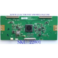 T-CON PARA TV LG / 6871L-5902A / 6870C-0806A / 6870C-0806A / 5902A / PANEL LD650EQE (FJ)(A1) / MODELO 65UH5E-BJ.AUSLLJM