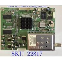 TARJETA TUNER PARA TV SCEPTRE / AD001-1 / AD001 REV:.1 / 062705501 / TD13360 / PANEL T370XW01 / MODELO X37SV
