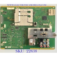 MAIN PARA TV PANASONIC / TXN/A11MFUS / TNPH1009 / TNPH1009AF / PANEL  LC370WUN-SCC1 / MODELO TH-37LRU5
