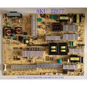FUENTE DE PODER PARA TV SHARP / RUNTKA903WJQZ / QPWBS0398SNPZ (18) / PSD-0863 / MODELO LC-80LE632U