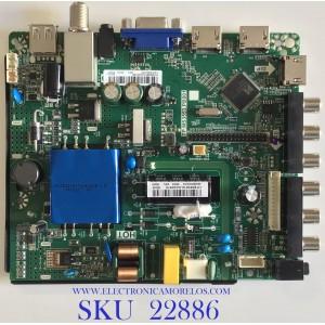 MAIN FUENTE PARA TV KC / H19082615 / GP.MS3553:PB801 / H19082615-0A00169 /JE400D3HE1N / 01.05000602 / PANEL LSC400HN02 / MODELO KC40V2 / ESTA TARJETA ES CHINA Y ES UTILIZADA EN DIFERENTES MARCAS Y MODELOS / ENTRAR A DESCRIPCIÓN DEL PRODUCTO