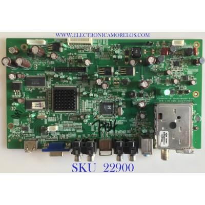 MAIN PARA TV AOC / 6201-7024339101 / 2202539400p / JC240XXX1UA / PANEL M236MWF1 / MODELO L24H898