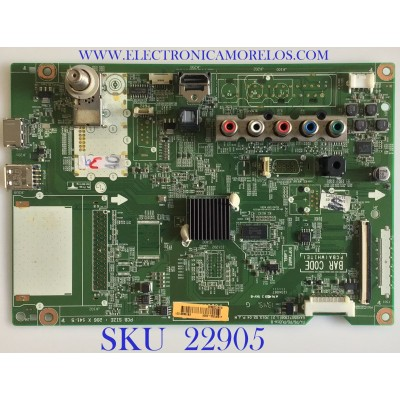 MAIN PARA TV LG / EBT62921201 / EAX65071308(1.2) / RU41C03560 / PANEL PDP50R50000 / MODELO 50PN6500-UA BUSLLJR