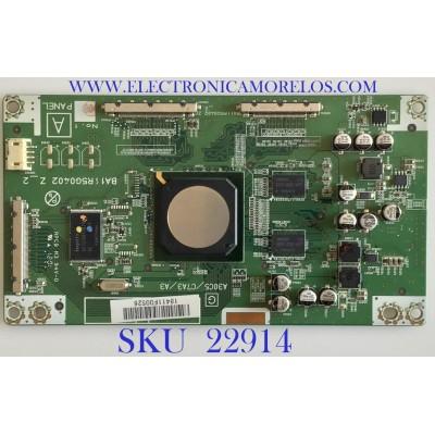 T-CON PARA TV PHILIPS / A17RFMFR / BA11R5G0402 Z_2 / PANEL T546HW04 V.2 / MODELOS 55PFL3907/F7 VM1 / 55PFL3907/F7 DS1 / 55PFL3907/F8 / 55PFL4706/F7 VM1 / 55PFL4706/F7 XA1 / 55PFL4706/F7 DS1