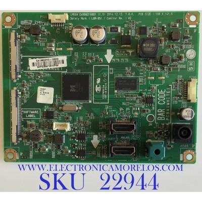 MAIN PARA MONITOR LG / EAX66216901 / EAX66216901 (1.5) / 541M00Y0-0002 / NP53W101PW / PANEL LM290WW2(SS)(A1) / MODELO 29UM57-PE.AUSKRPN