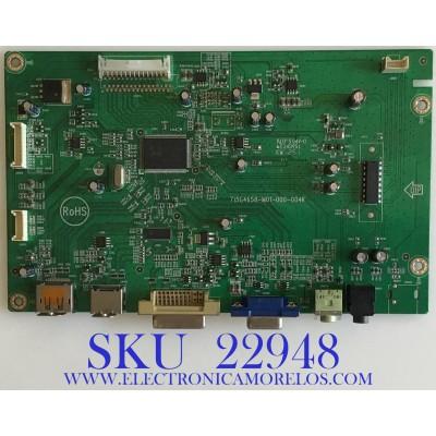 MAIN PARA MONITOR ASUS / GQACBCA052 / 715G4658-M01-000-004K / (T)GQACBCA052 / PANEL LM250WF2(TL)(A1) / MODELO VE258Q