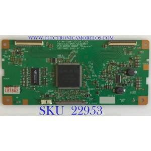 T-CON PARA TV LG / EAT34821801 / 6870C-0060F / 816A / 6871L-0816A / MODELOS 32LP1D-UA.APUSLT / 32LX1D-UA